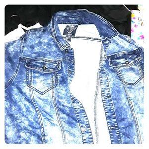 Fresh ass Buffalo Jean jacket